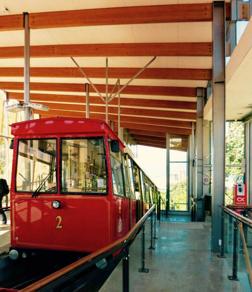 Cable Car Station in Wellington