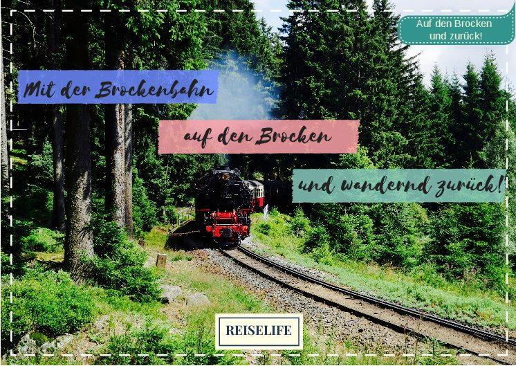 Unterwegs mit der Brockenbahn im Harz! Mit VIDEO!