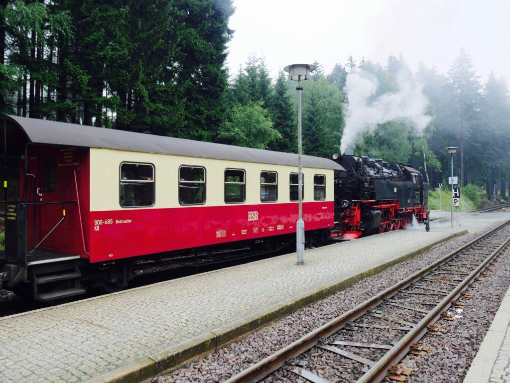 Mit der Brockenbahn auf den Brocken im Harz