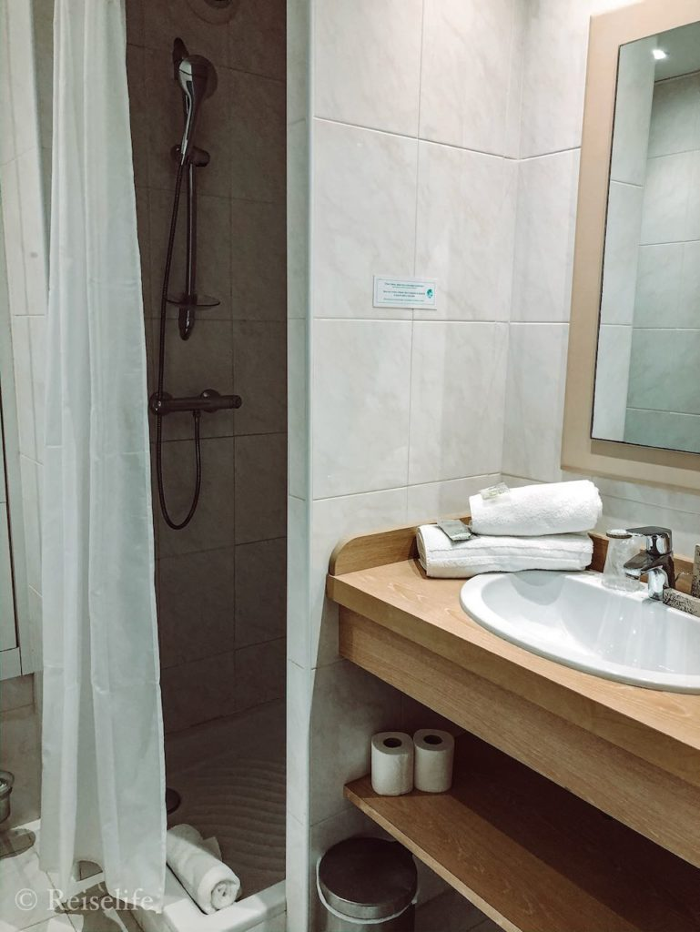 Hoteltipp Menton Badezimmer