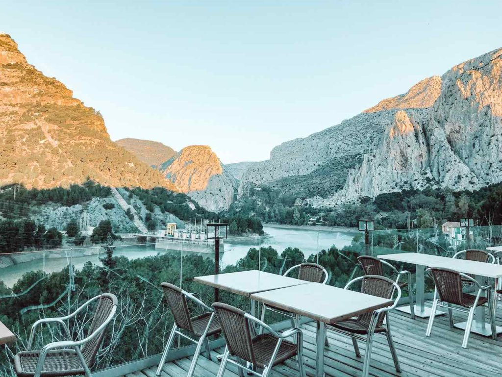Aussicht Caminito del Rey Andalusien