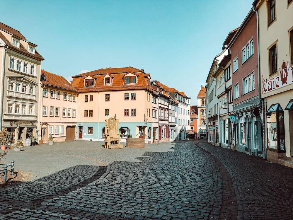 Gotha Altstadt Buttermarkt