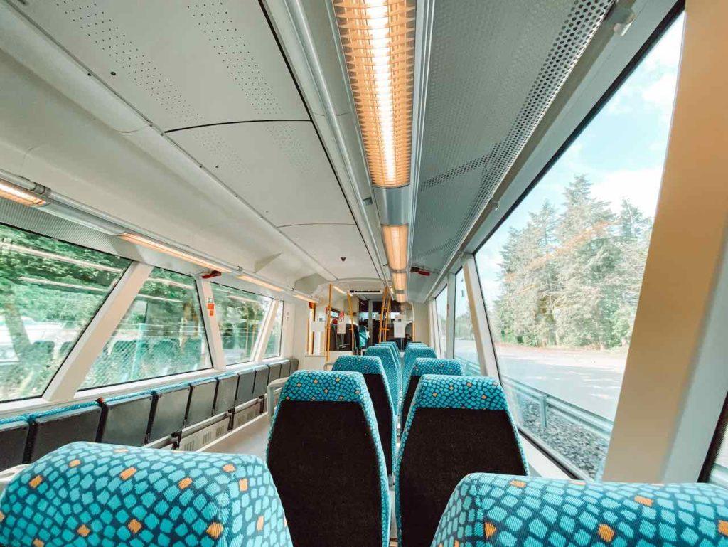 Sitzplätze Hunsrückbahn
