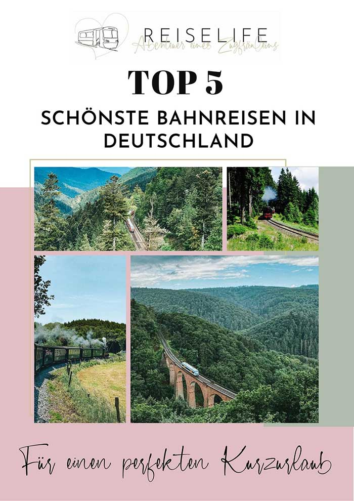 Reiselife - E-Book Top 5 Deutschland