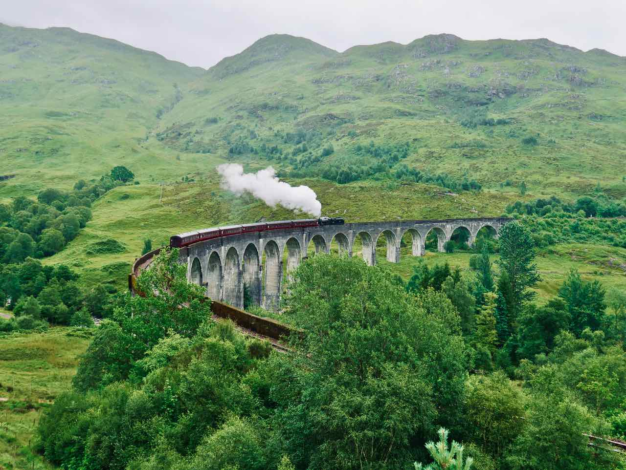 Harry Potter Zug Schottland