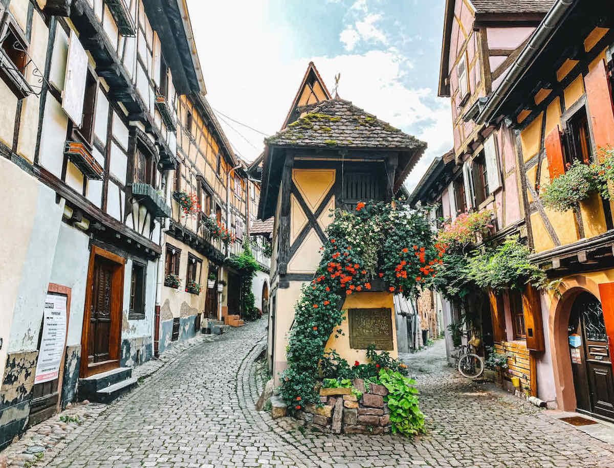Eguisheim kleines Haus